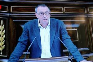 Joan Baldoví (Compromís-Q) al Congrés dels Diputats
