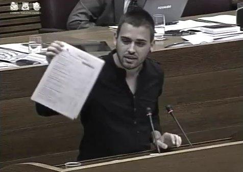 Intervenció del diputat de Compromís Fran Ferri a Les Corts